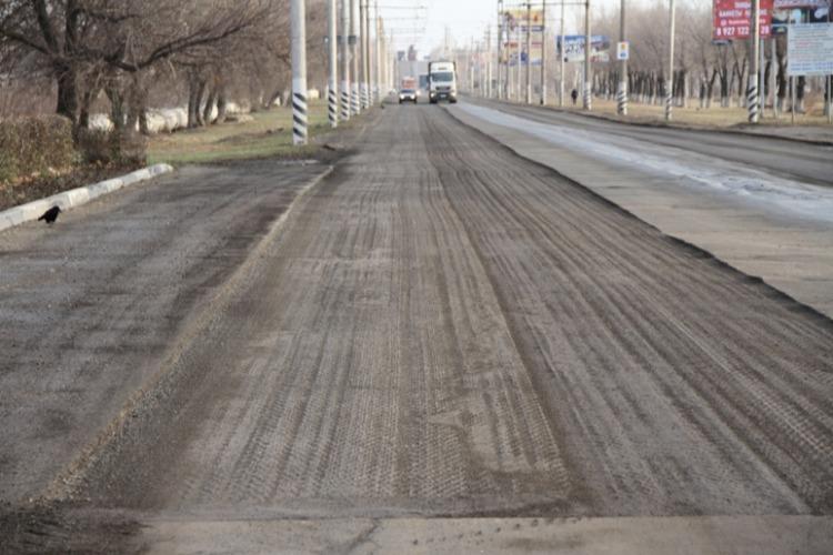 Начался ремонт дороги по Саратовскому шоссе