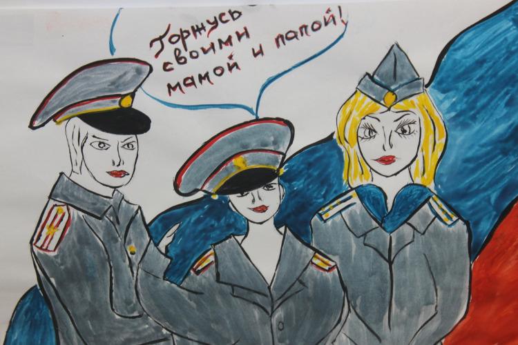 Полицейские Балакова уже поздравили друг друга с профессиональным праздником