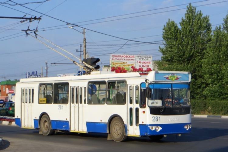 Внимание! Информация о приостановке троллейбусного сообщения в Балакове