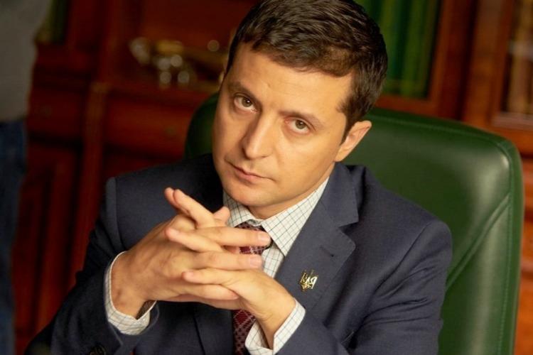 ТНТ снял с эфира сериал Слуга народа