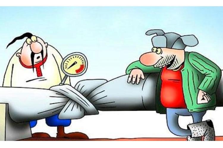 Россия и Украина 1 января обнуляют взаимные претензии по газу