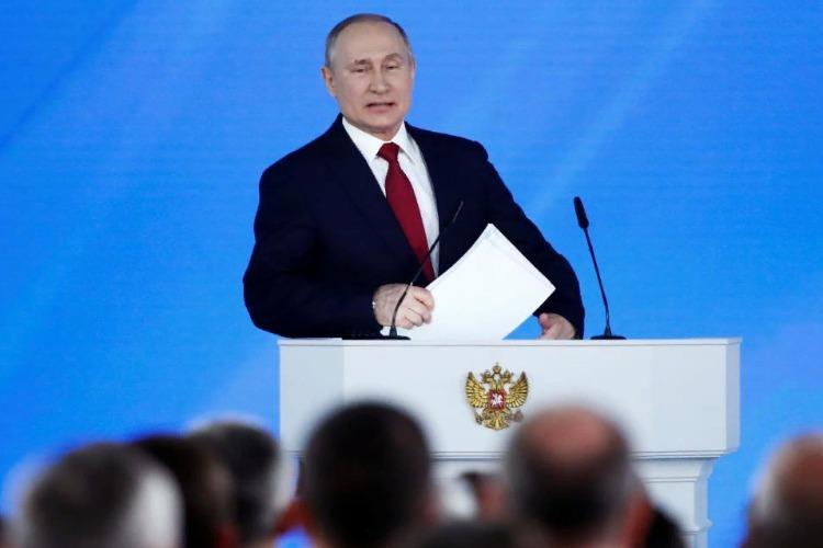 Путин обратился к Федеральному себе