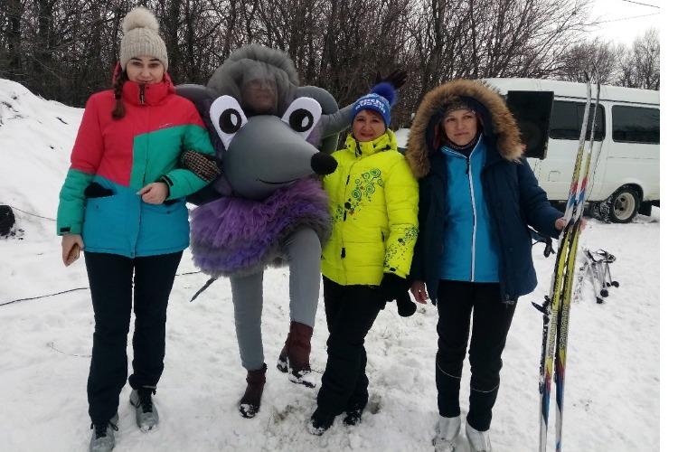 Лыжня мэра: Себя показали – на других посмотрели