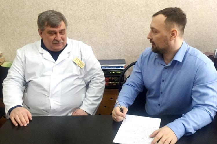 Председатель ОПы Алексей Антипин задал неудобные вопросы главврачу психдиспансера