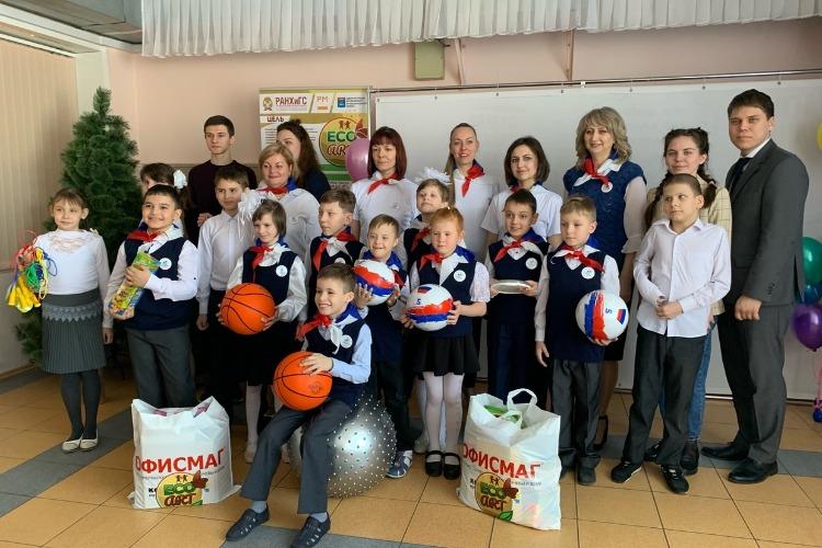 Команда проекта Eco-ART подарила ученикам школы-интерната счастливый день жизни