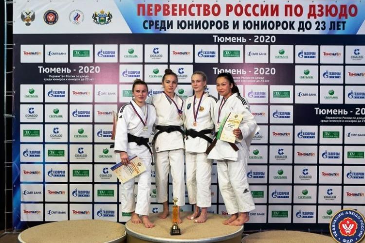 Ольга Борисова одержала победу в Первенстве России по дзюдо