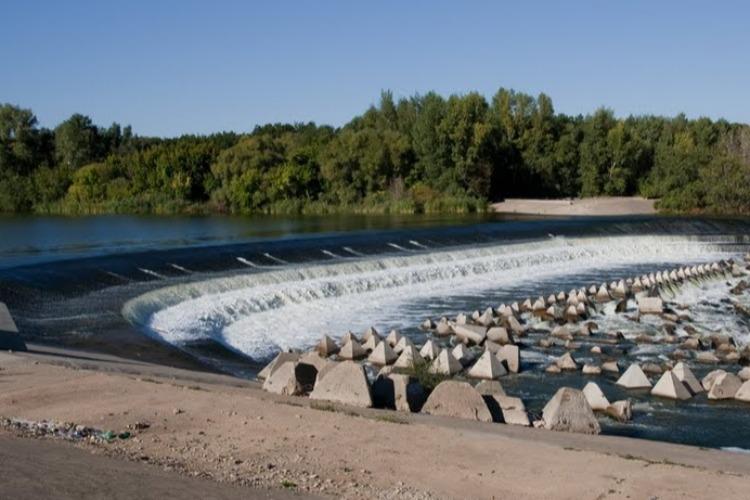 Водопады в очередной раз почистили