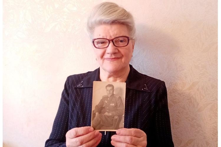 Дочь командира огневого взвода Ивана Зубашко живет в Балакове