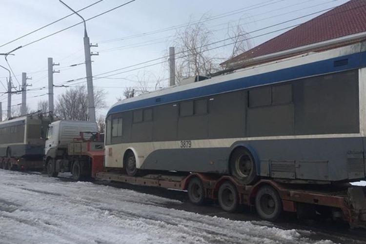 Первые московские троллейбусы приехали в Балаково