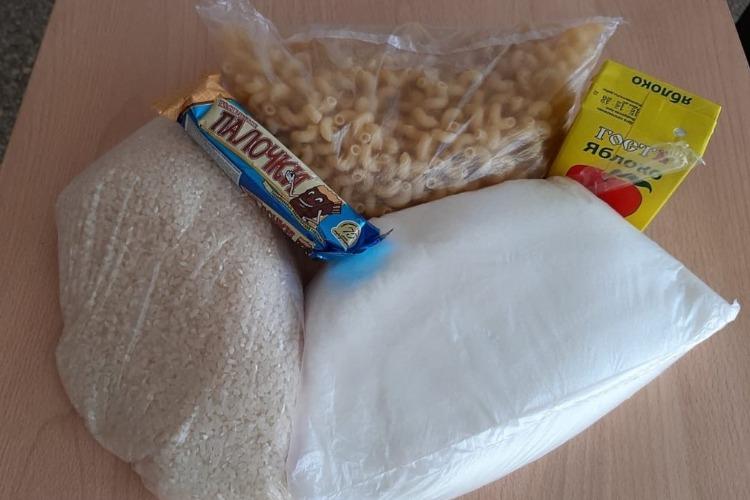 Балаковские школьники получили первые продуктовые наборы