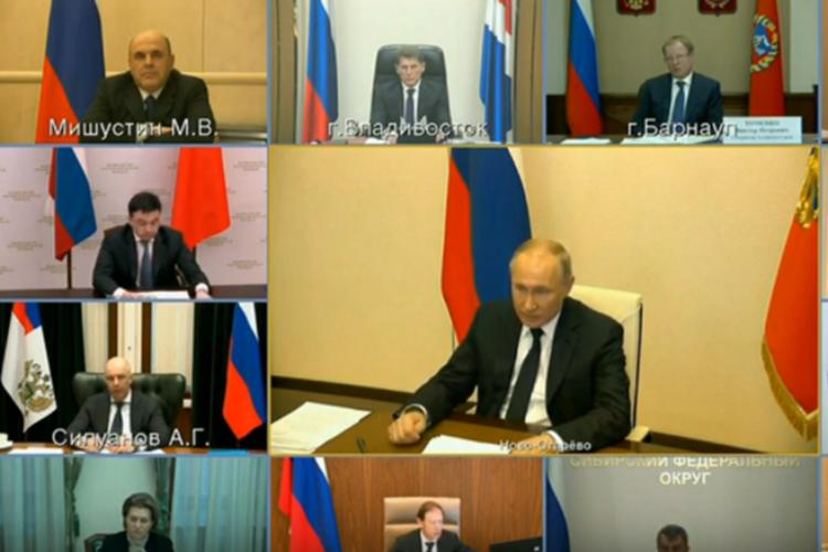 Владимир Путин: всем, кто уволен после 1 марта, будут платить максимальное пособие по безработице