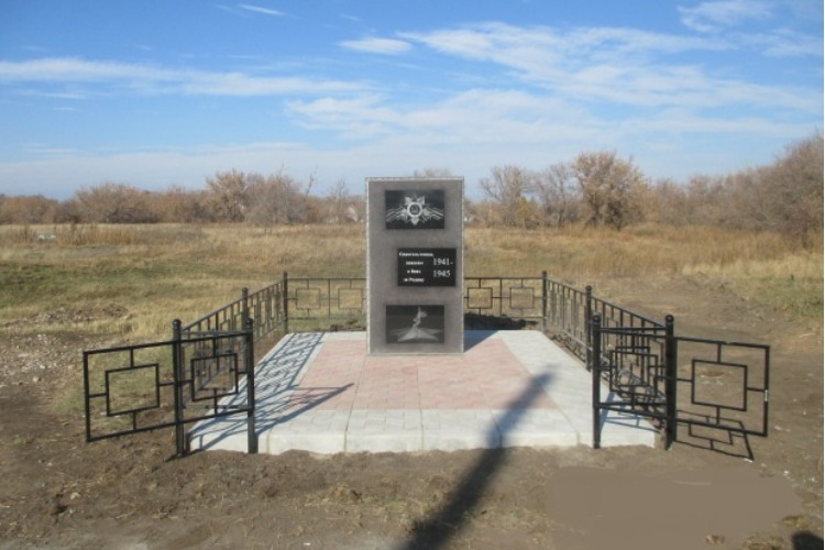 В Натальинских селах обновили памятники ко Дню Победы