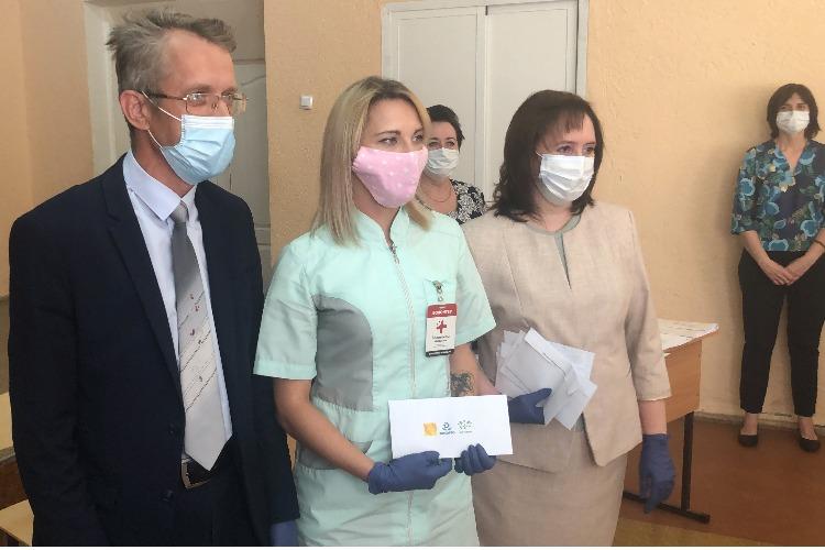 Андрей Шибнев - медикам Балакова: спасибо за то, что вы есть!