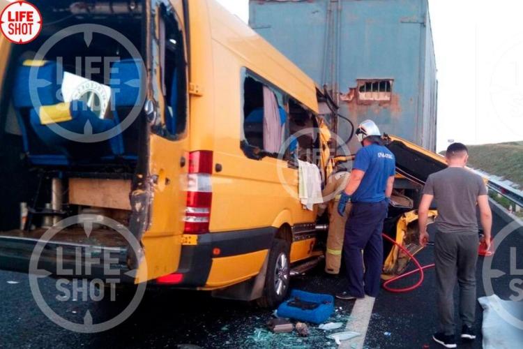 Что случилось этой ночью. ДТП с пассажирским автобусом в Крыму унесло 8 жизней