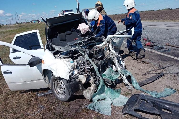 В ДТП на трассе около Балакова погибли 3 человека