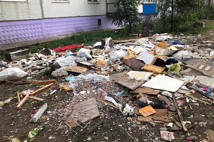 Последствия пожара на Комсомольской ликвидированы