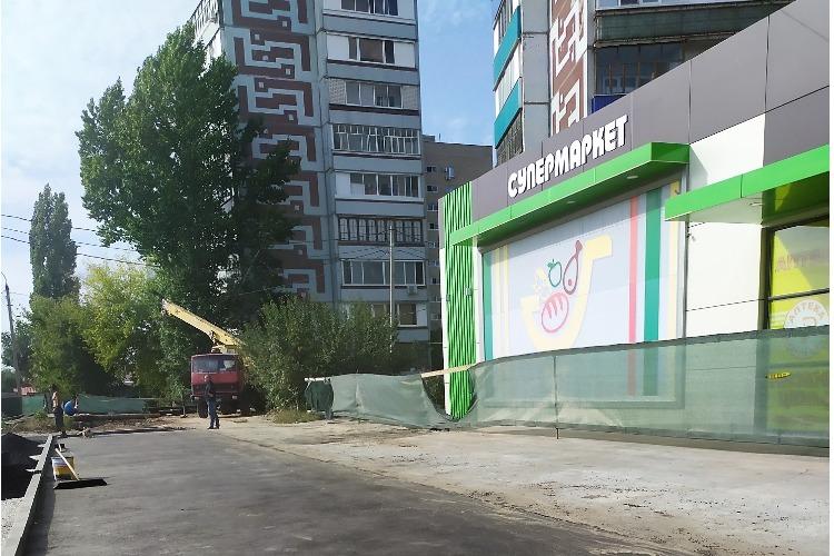 Улицу Свердлова начали приводить в божеский вид