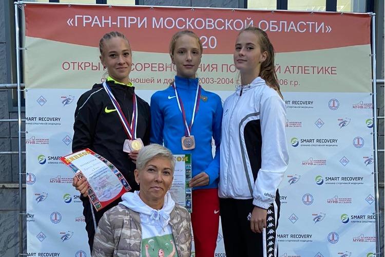 Балаковские легкоатлеты привезли медали с Гран-При Московской области