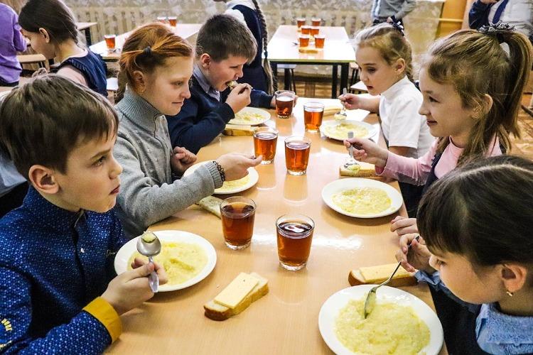Школам предложили фотографировать школьные обеды