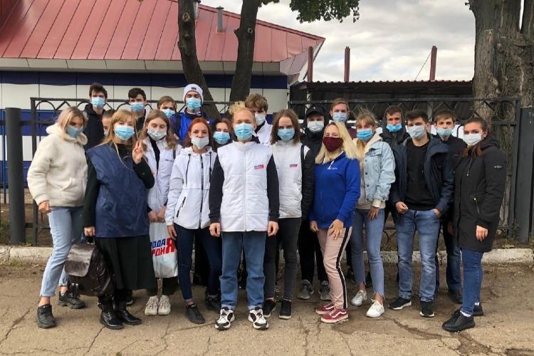 Балаковские молодогвардейцы отметили День чистоты субботником и забегом