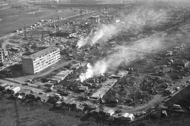 Спитакская трагедия — самое страшное землетрясение в СССР. Видео