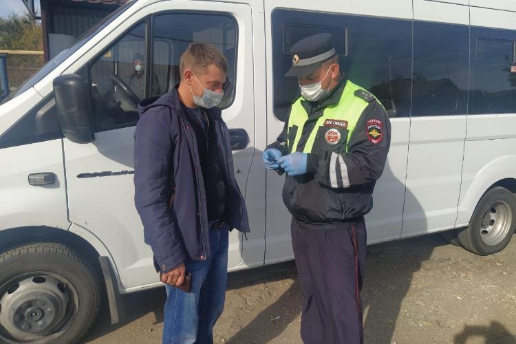 Балаковская госавтоинспекция провела очередной рейд на общественном транспорте
