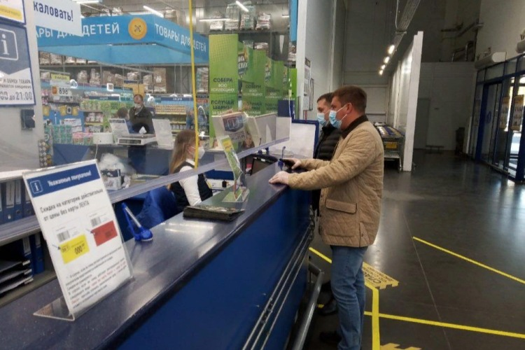 В Балакове проверили 4 торговых центра на соблюдению санитарно-эпидемиологических норм