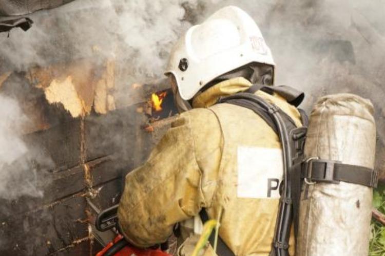 В ковидном доме престарелых сгорела сауна