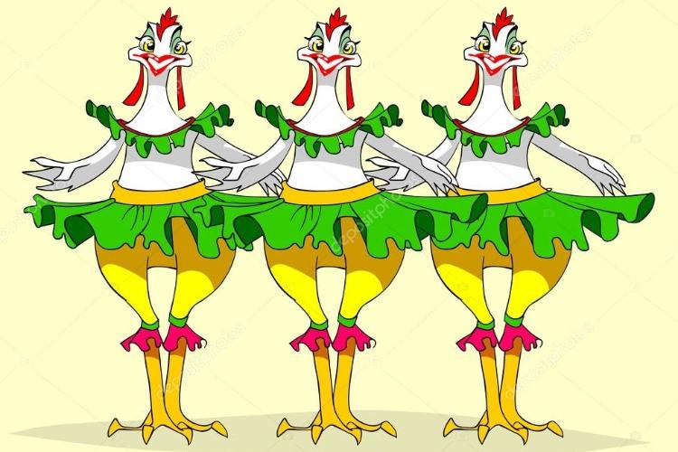 Сегодня - карнавал всех птиц! На них закончена охота