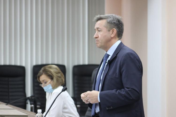 Итоговая пресс-конференция Александра Соловьева. Наш фоторепортаж