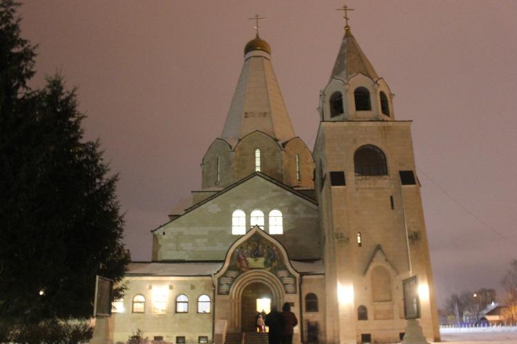 В Храме Святой Троицы прошла Рождественская литургия