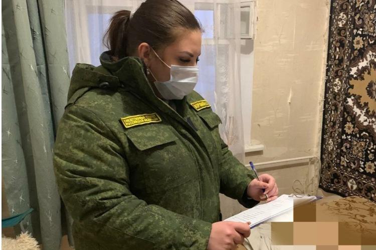 В квартире обнаружено тело избитой женщины