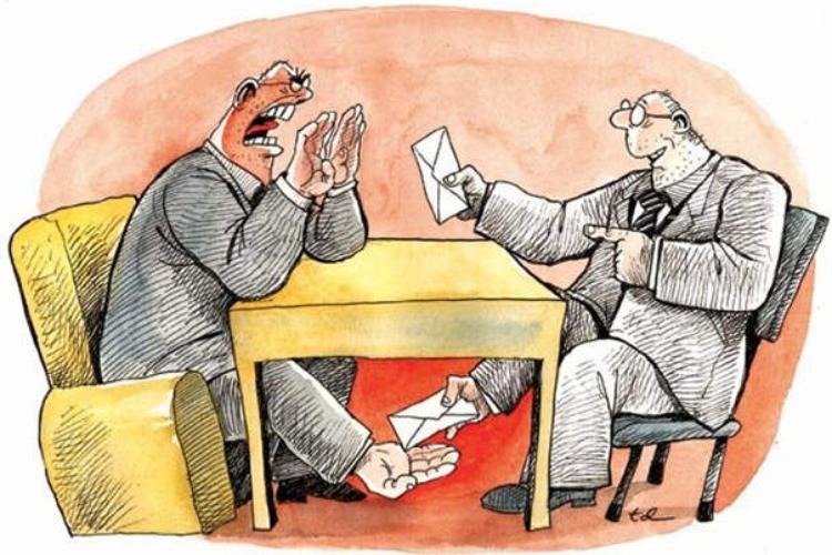 Чиновник-дорожник задержан за получение взятки в размере 164 тысяч рублей
