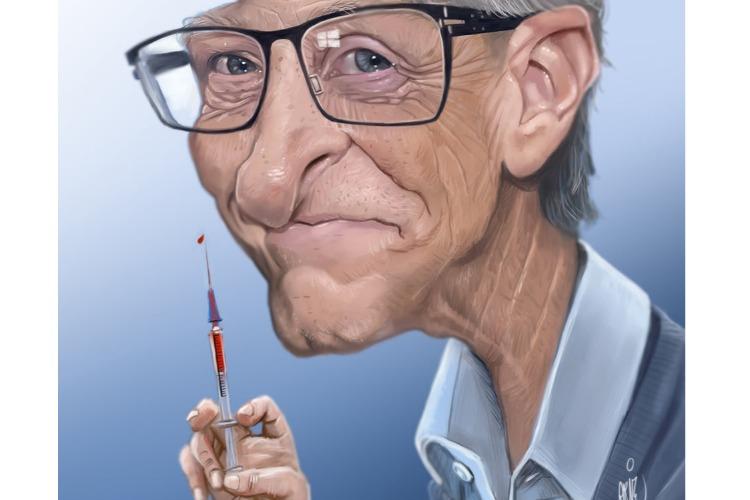 Что случилось этой ночью. Билл Гейтс сделал прививку от ковида