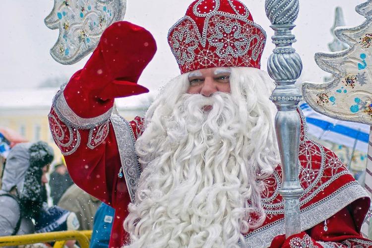 В селе под Балаковом отметили день Деда Мороза и Снегурочки