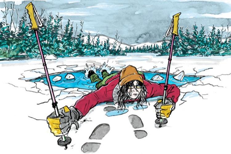 Когда под тонким льдом опасные потоки