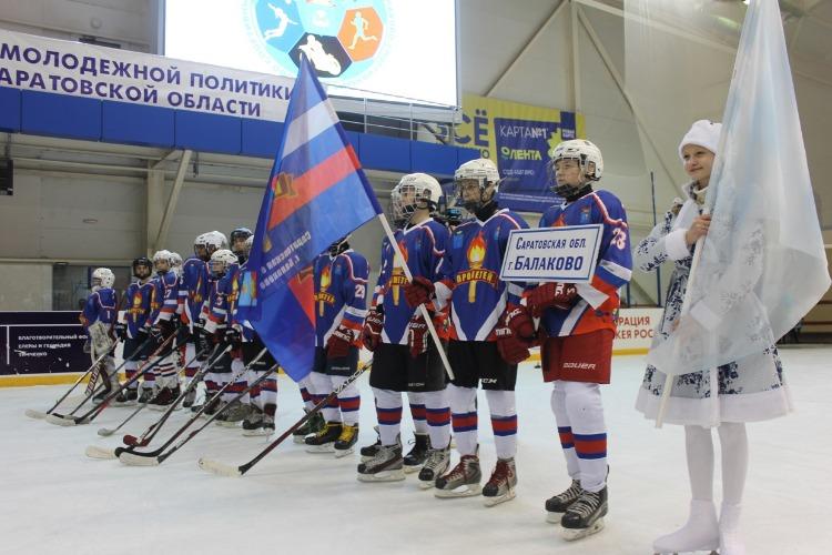 В Балакове состоялось торжественное открытие турнира Золотая шайба. Фоторепортаж