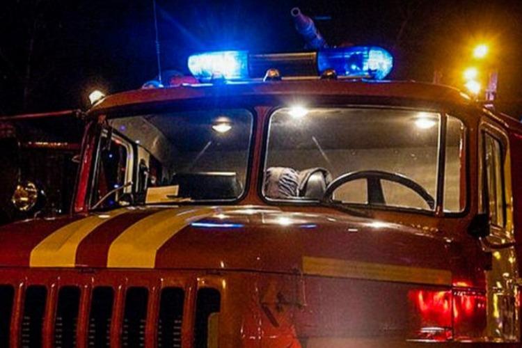 В Балакове горел подъезд девятиэтажного дома