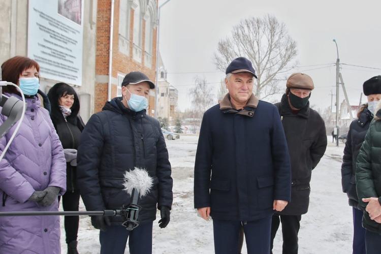 Вячеслав Володин будет искать средства на восстановление двух исторических зданий в Балакове