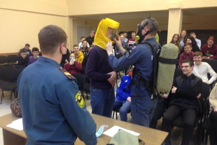 В школах Балакова прошел Всероссийский урок ОБЖ
