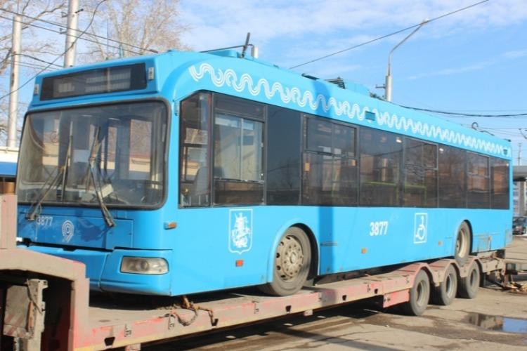 Московские троллейбусы скоро выйдут на дороги Балакова