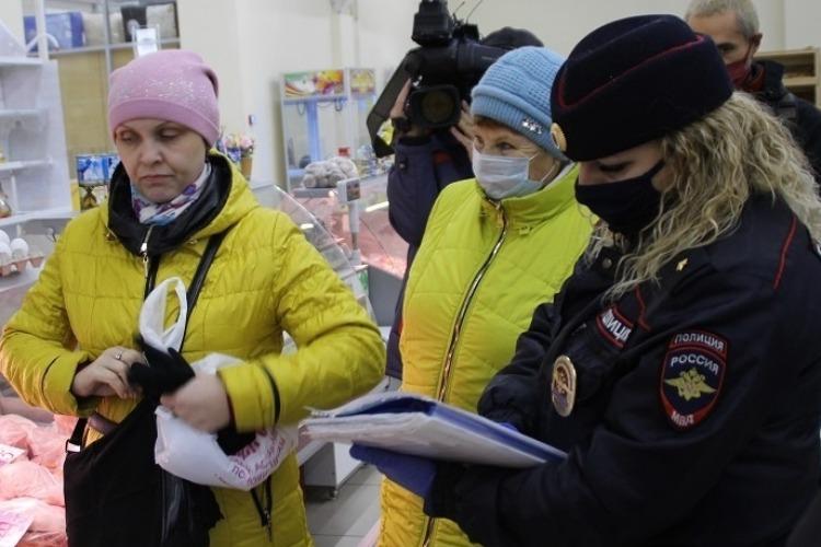 В Балакове сбавили обороты репрессий против безмасочников