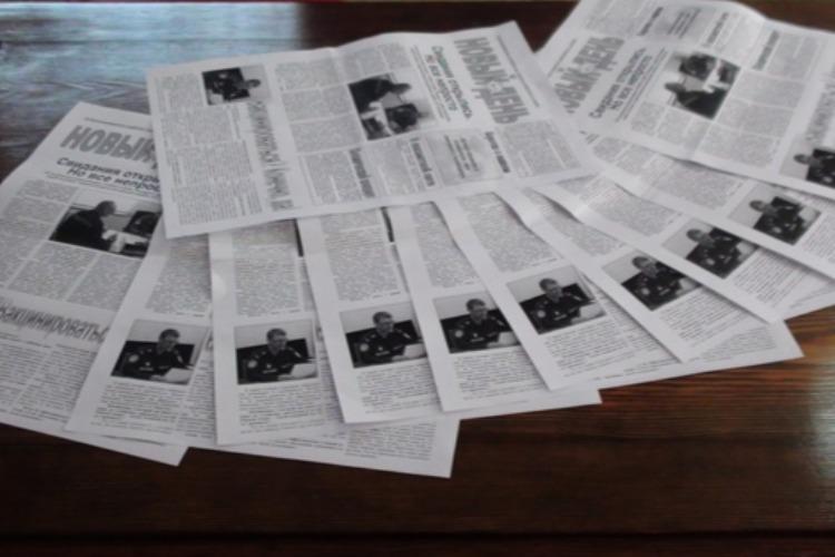 В одной из колоний Саратовской области наладили выпуск газеты