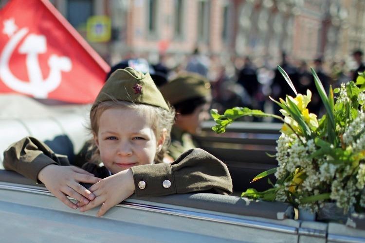 Погода в Балакове в День Победы. По-летнему тепло, но пасмурно