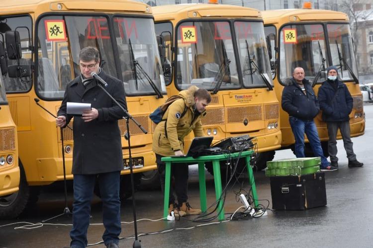 Новые школьные автобусы станут точкой роста