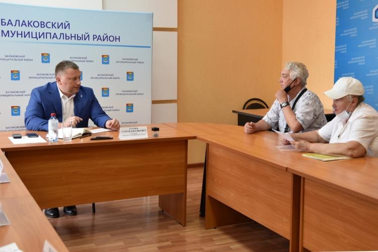 Сергей Грачев провел свой первый прием граждан по личным вопросам