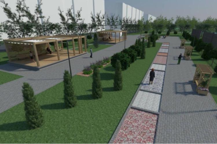 Представляем Вам проект № 2 главного парка Балакова