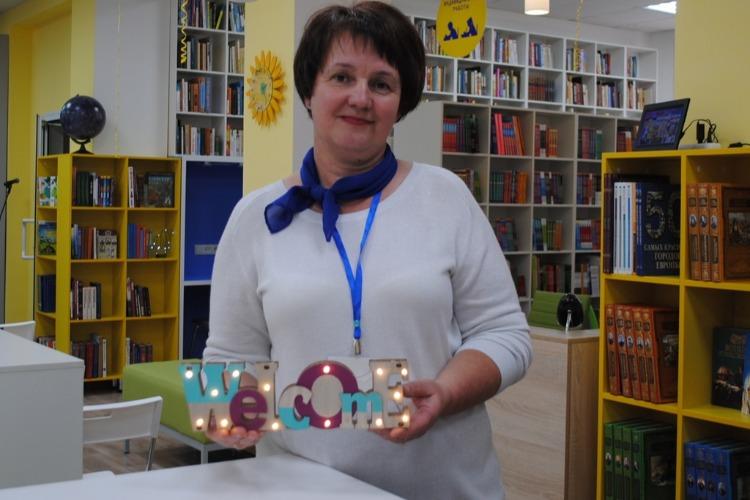 Наша библиотекарша - вторая по области