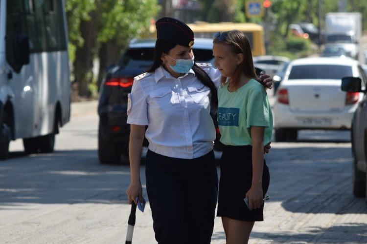 Только по зебре! Балаковская госавтоинспекция провела рейд на улице Ленина
