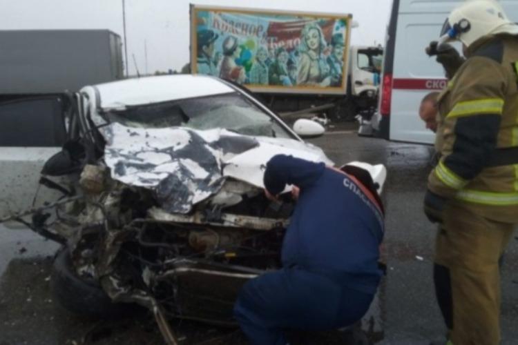 В ДТП на трассе Балаково - Саратов пострадали 3 человека
